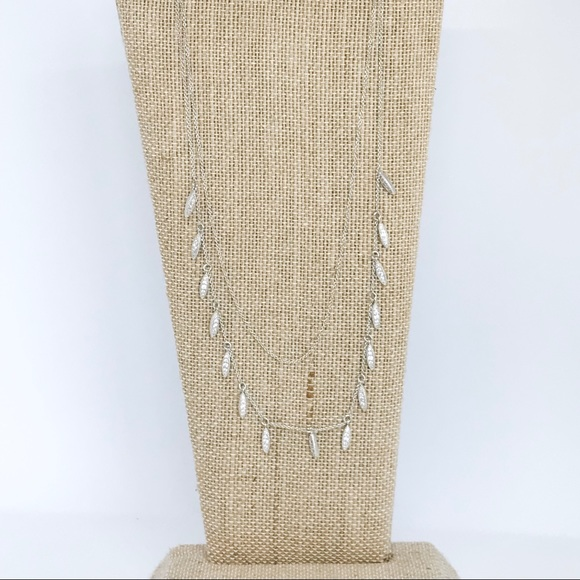 Chloe + Isabel Jewelry - Pavé Two-Row Necklace
